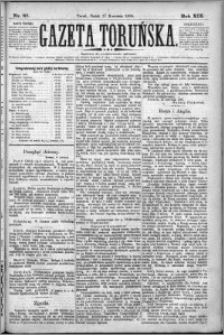 Gazeta Toruńska 1885, R. 19 nr 87