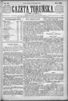 Gazeta Toruńska 1885, R. 19 nr 88