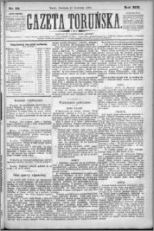 Gazeta Toruńska 1885, R. 19 nr 89