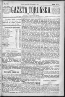 Gazeta Toruńska 1885, R. 19 nr 92