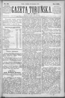 Gazeta Toruńska 1885, R. 19 nr 95