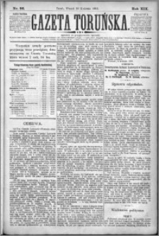 Gazeta Toruńska 1885, R. 19 nr 96