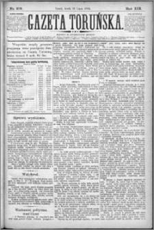 Gazeta Toruńska 1885, R. 19 nr 170