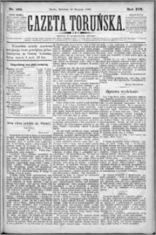 Gazeta Toruńska 1885, R. 19 nr 192