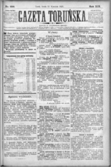 Gazeta Toruńska 1885, R. 19 nr 218