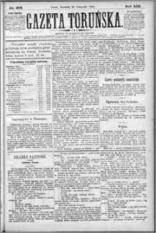 Gazeta Toruńska 1885, R. 19 nr 276