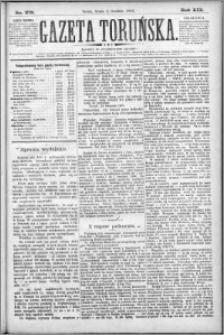 Gazeta Toruńska 1885, R. 19 nr 278
