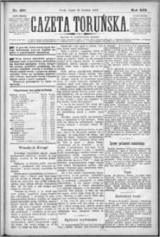 Gazeta Toruńska 1885, R. 19 nr 297