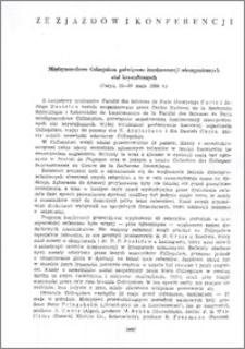 Międzynarodowe Colloquium poświęcone luminescencji nieorganicznych ciał krystalicznych (Paryż 22-27 maja 1956 r.)