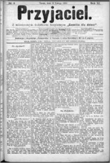 Przyjaciel : pismo dla ludu 1886 nr 6