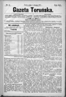 Gazeta Toruńska 1887, R. 21 nr 3