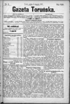 Gazeta Toruńska 1887, R. 21 nr 5