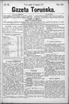 Gazeta Toruńska 1887, R. 21 nr 22