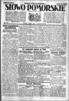Słowo Pomorskie 1925.08.07 R.5 nr 181