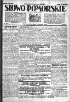 Słowo Pomorskie 1925.08.11 R.5 nr 184