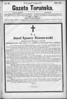 Gazeta Toruńska 1887, R. 21 nr 66