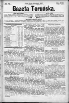 Gazeta Toruńska 1887, R. 21 nr 78