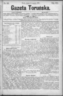 Gazeta Toruńska 1887, R. 21 nr 132