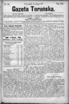 Gazeta Toruńska 1887, R. 21 nr 141