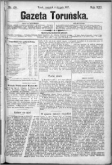 Gazeta Toruńska 1887, R. 21 nr 175