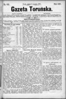 Gazeta Toruńska 1887, R. 21 nr 206