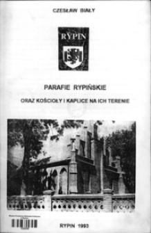 Parafie rypińskie oraz kościoły i kaplice na ich terenie