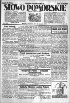 Słowo Pomorskie 1925.08.09 R.5 nr 183