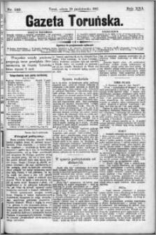 Gazeta Toruńska 1887, R. 21 nr 249