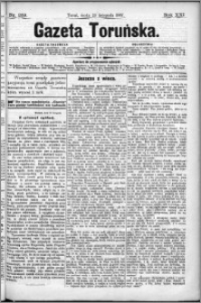 Gazeta Toruńska 1887, R. 21 nr 269
