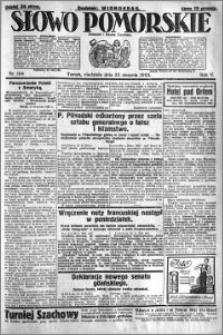 Słowo Pomorskie 1925.08.23 R.5 nr 194