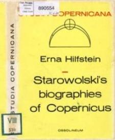 Starowolski's biographies of Copernicus