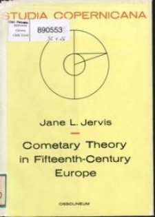 Cometary theory in fifteenth-century Europe