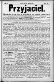 Przyjaciel : pismo dla ludu 1887 nr 24