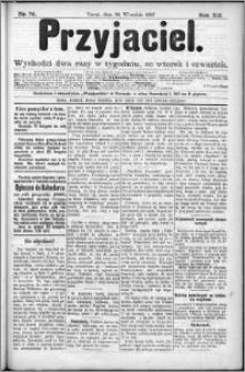 Przyjaciel : pismo dla ludu 1887 nr 76