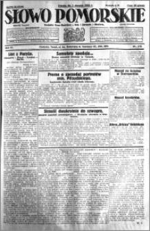 Słowo Pomorskie 1931.08.01 R.11 nr 175