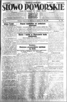 Słowo Pomorskie 1931.08.02 R.11 nr 176