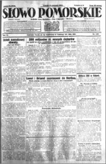 Słowo Pomorskie 1931.08.15 R.11 nr 187