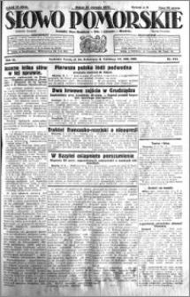 Słowo Pomorskie 1931.08.21 R.11 nr 191