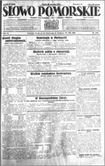Słowo Pomorskie 1931.08.28 R.11 nr 197
