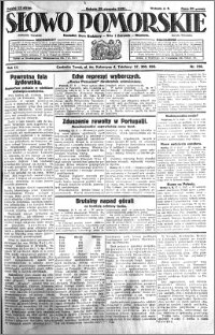 Słowo Pomorskie 1931.08.29 R.11 nr 198