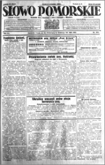 Słowo Pomorskie 1931.09.02 R.11 nr 201