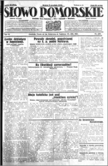 Słowo Pomorskie 1931.09.05 R.11 nr 204