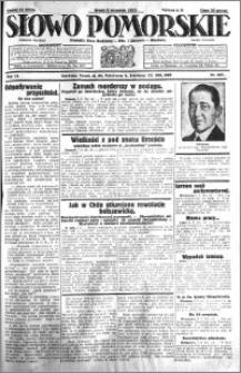 Słowo Pomorskie 1931.09.09 R.11 nr 207