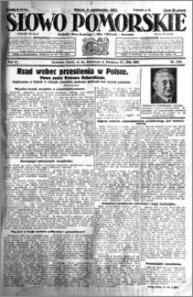 Słowo Pomorskie 1931.10.06 R.11 nr 230