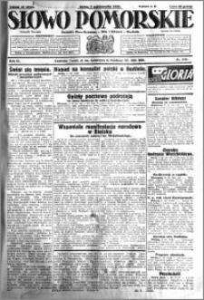 Słowo Pomorskie 1931.10.07 R.11 nr 231