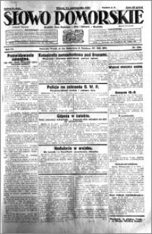 Słowo Pomorskie 1931.10.13 R.11 nr 236
