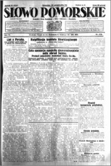 Słowo Pomorskie 1931.10.15 R.11 nr 238