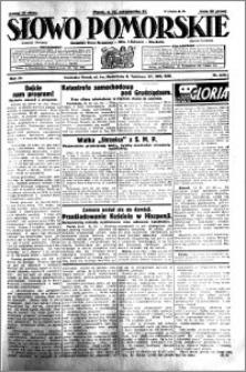 Słowo Pomorskie 1931.10.16 R.11 nr 239