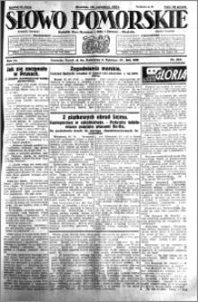 Słowo Pomorskie 1931.10.18 R.11 nr 241