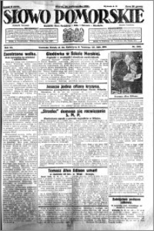 Słowo Pomorskie 1931.10.20 R.11 nr 242